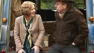 Ladies Night: Finding Your Feet: Imelda Staunton (Sandra) en Timothy Spall (Charlie)