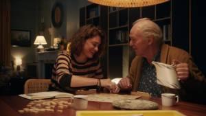 Ladies Night: Taal is zeg maar echt mijn ding: Fockeline Ouwerkerk (Anne) en Peter Faber (Werner)