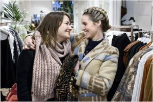 Ladies Night: Zwaar Verliefd!: Barbara Sloesen (Isa) en Liza Sips (Floor)