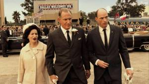 LBJ: Jennifer Jason Leigh (Lady Bird Johnson) en Woody Harrelson (Lyndon B. Johnson)