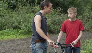 Le gamin au vélo filmstill