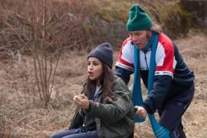 Le Grand Bain: Leïla Bekhti (Amanda) en Philippe Katerine (Thierry)