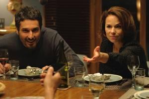 Le jeu: Vincent Elbaz (Thomas) en Suzanne Clément (Charlotte)