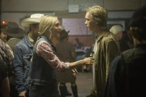 Lean on Pete: Chloë Sevigny (Bonnie) en Charlie Plummer (Charley Thompson)