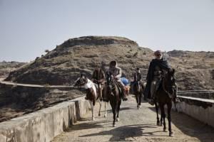 Les cowboys filmstill
