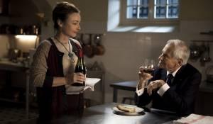 Les saveurs du Palais: Catherine Frot (Hortense) en Jean d'Ormesson (Le Président)