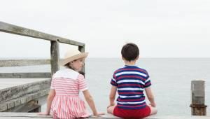 Les vacances du petit Nicolas: Erja Malatier (Isabelle) en Mathéo Boisselier (Le petit Nicolas)