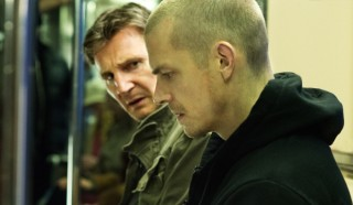 Liam Neeson en Joel Kinnaman in Run All Night