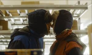 Liebe in den Gängen: Peter Kurth (Bruno) en Sandra Hüller (Marion Koch)