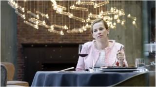 Lies Visschedijk in Brasserie Valentijn