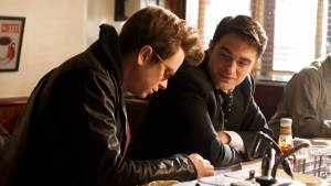 Life (2015): Robert Pattinson (Dennis Stock) en Dane DeHaan (James Dean)