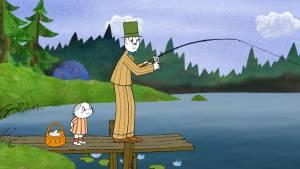 Lilla Anna och Långa farbrorn filmstill