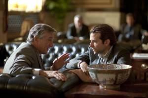 Limitless: Bradley Cooper (Eddie Morra) en Robert De Niro (Carl Van Loon)