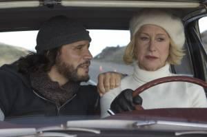 Love Ranch: Helen Mirren (Grace Bontempo) en Sergio Peris-Mencheta (Armando Bruza)