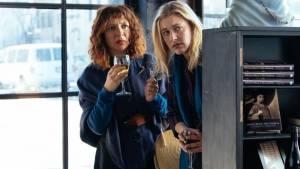 Maggie's Plan: Maya Rudolph (Felicia) en Greta Gerwig (Maggie)