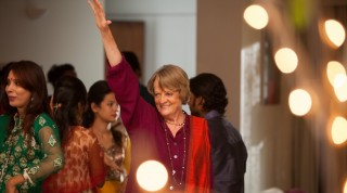 Maggie Smith in The Second Best Exotic Marigold Hotel