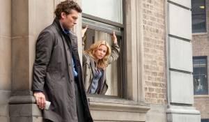 Man on a Ledge: Sam Worthington (Nick Cassidy) en Elizabeth Banks (Lydia Anderson)