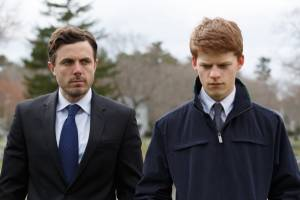 Manchester by the Sea: Casey Affleck (Lee Chandler) en Lucas Hedges (Patrick)