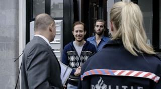 Robert de Hoog en Manuel Broekman in Homies