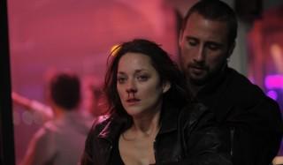Marion Cotillard en Matthias Schoenaerts in De rouille et d'os
