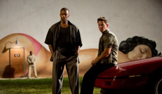 Anthony Mackie en Mark Wahlberg in Pain and Gain