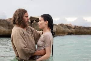Mary Magdalene: Joaquin Phoenix (Jesus) en Rooney Mara (Mary Magdalene)