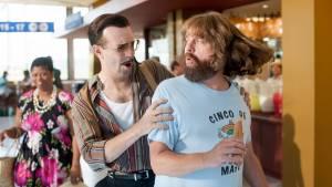Masterminds: Jason Sudeikis (Mike McKinney) en Zach Galifianakis (David)