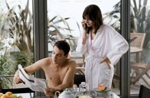 Match Point: Emily Mortimer (Chloe Hewett Wilton) en Jonathan Rhys-Meyers (Chris Wilton (as Jonathan Rhys Meyers))