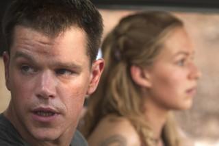 Matt Damon en Franka Potente in The Bourne Supremacy