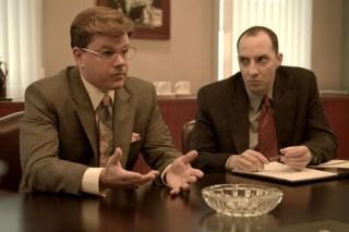 Matt Damon en Tony Hale in The Informant!