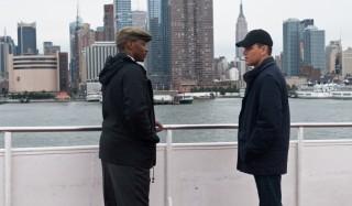Anthony Mackie en Matt Damon in The Adjustment Bureau