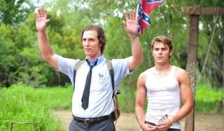 Matthew McConaughey en Zac Efron in The Paperboy