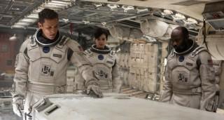 Matthew McConaughey, Anne Hathaway en David Oyelowo in Interstellar