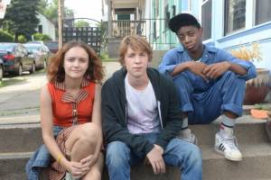 Me and Earl and the Dying Girl: Olivia Cooke (Rachel), Thomas Mann (Greg) en RJ Cyler (Earl)