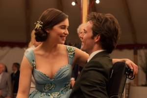 Me Before You: Emilia Clarke (Louisa Clark) en Sam Claflin (William Traynor)