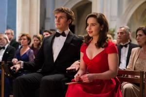 Me Before You: Sam Claflin (William Traynor) en Emilia Clarke (Louisa Clark)