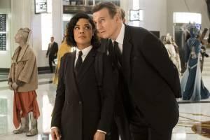 Men in Black: International: Tessa Thompson (Agent M) en Liam Neeson