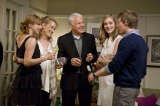 Caitlin Fitzgerald, Zoe Kazan, Steve Martin en Meryl Streep in It's Complicated