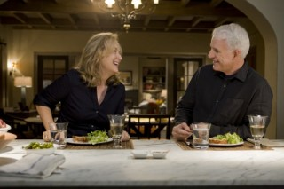 Steve Martin en Meryl Streep in It's Complicated