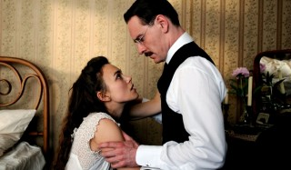 Keira Knightley en Michael Fassbender in A Dangerous Method