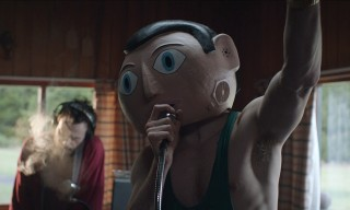 Michael Fassbender in Frank