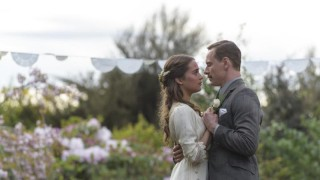 Alicia Vikander en Michael Fassbender in The Light Between Oceans