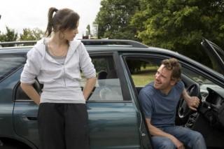 Michael Fassbender en Katie Jarvis in Fish Tank
