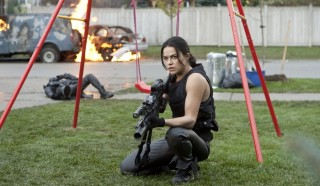 Michelle Rodriguez in Resident Evil: Retribution