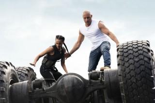 Michelle Rodriguez en Vin Diesel in Fast & Furious 9