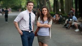 Justin Timberlake en Mila Kunis in Friends with Benefits