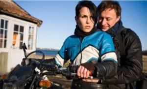 Millennium: Mannen die vrouwen haten: Michael Nyqvist (Mikael Blomkvist) en Noomi Rapace (Lisbeth Salander)