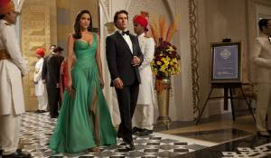 Mission: Impossible - Ghost Protocol: Paula Patton (Jane Carter) en Tom Cruise (Ethan Hunt)