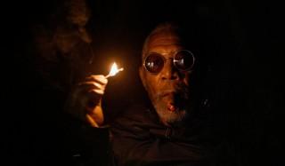Morgan Freeman in Oblivion