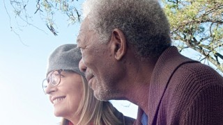 Morgan Freeman en Diane Keaton in Ruth & Alex